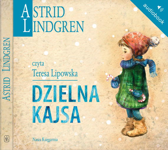 okładka Dzielna Kajsa, Audiobook | Astrid Lindgren