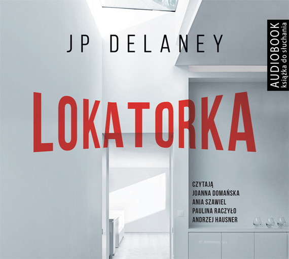 okładka Lokatorka, Audiobook | JP Delaney