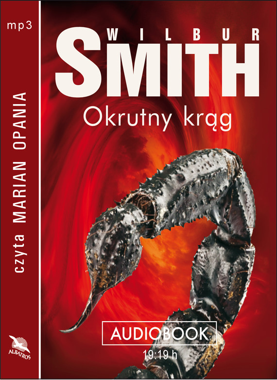 okładka OKRUTNY KRĄG, Audiobook | Wilbur Smith