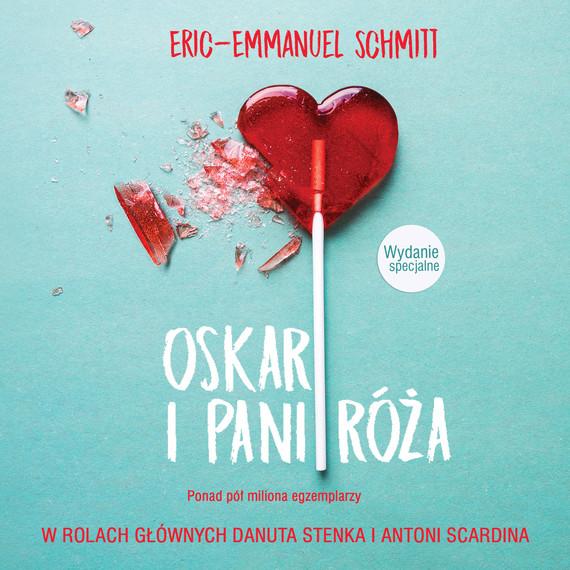 okładka Oskar i pani Róża, Audiobook | Eric-Emmanuel Schmitt