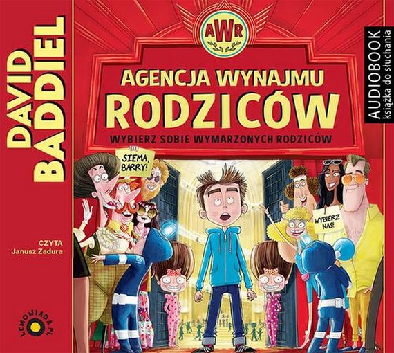 okładka Agencja Wynajmu Rodzicówaudiobook | MP3 | David  Baddiel