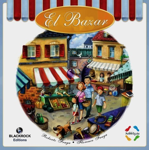okładka El Bazar, Książka | Roberto Fraga, Florence Fraga