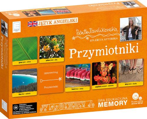 okładka Edukacyjne memory  językowe przymiotnikiksiążka |  | Beata Pawlikowska