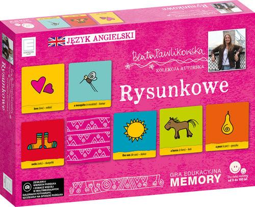 okładka Edukacyjne memory językowe rysunkoweksiążka |  | Beata Pawlikowska