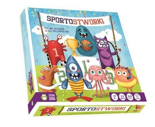 okładka Sportostworki, Książka | Sobich-Kamińska Anna