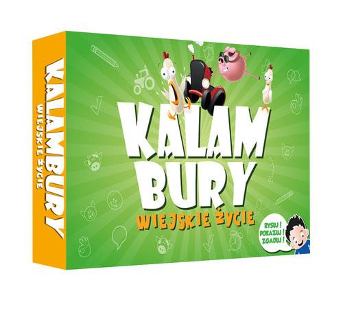 okładka Kalambury Wiejskie Życie/Kangur, Książka | Praca Zbiorowa