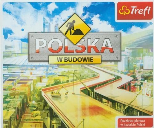 okładka Polska w budowie, Książka | Piotr Milewski