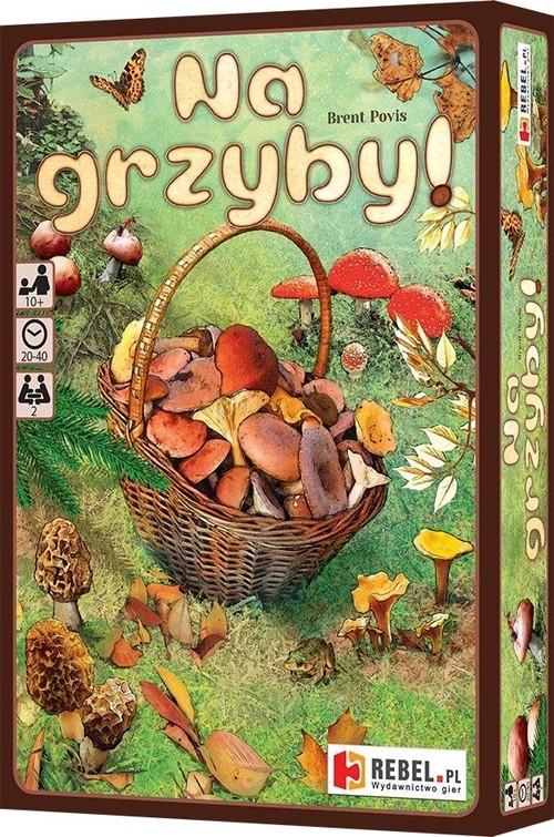 okładka Na grzyby, Książka | Povis Brent