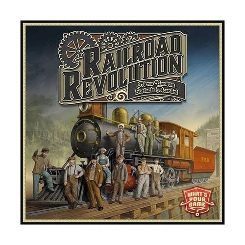 okładka Railroad Revolution, Książka | Marco Canetta, Stefania Niccolini
