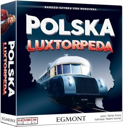 okładka Polska Luxtorpeda Bardzo szybka gra rodzinna, Książka   Knizia Reiner
