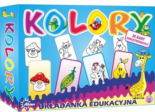 okładka Kolory Układanka edukacyjna, Książka  