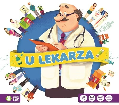 okładka Gra w zawody U lekarza, Książka | Praca Zbiorowa
