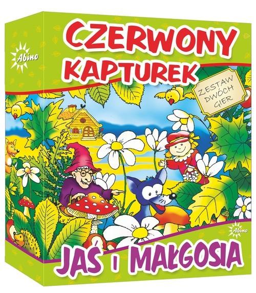 okładka Czerwony Kapturek -Jaś i Małgosia, Książka  