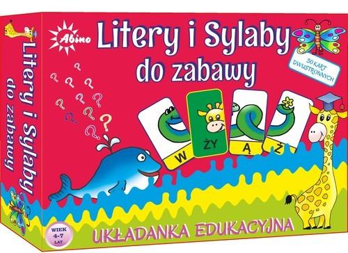 okładka Litery i sylaby do zabawy, Książka  