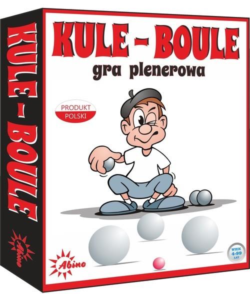 okładka Kule Boule Gra plenerowa, Książka  