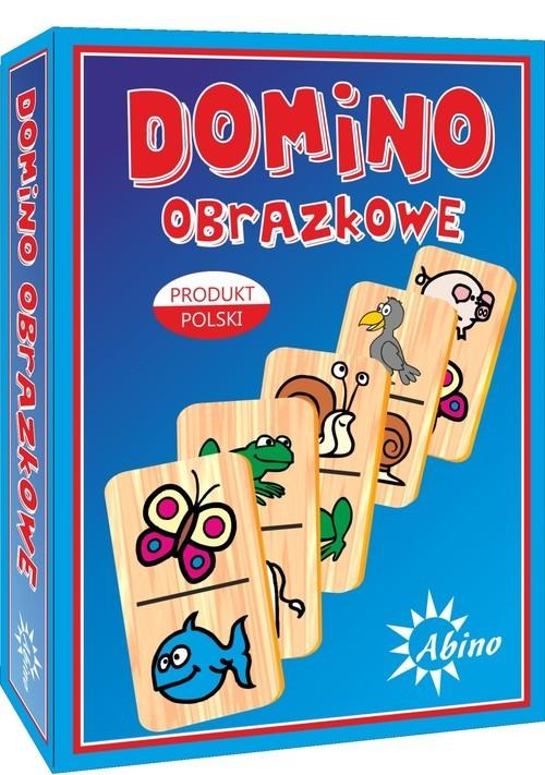 okładka Domino obrazkowe zwierzęta, Książka  