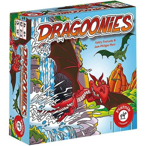 okładka Dragoonies, Książka | Fourcade & Jean Philippe Mars Valery