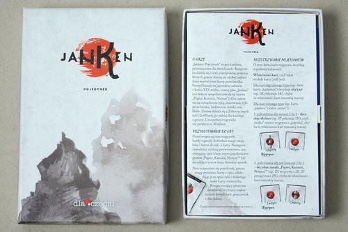 okładka Janken Pojedynek, Książka | Praca Zbiorowa