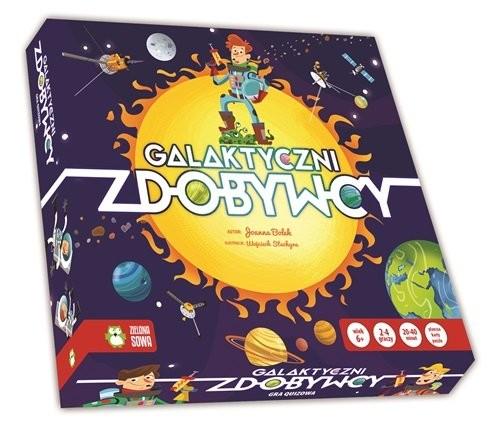 okładka Galaktyczni Zdobywcy, Książka | Sobich-Kamińska Anna