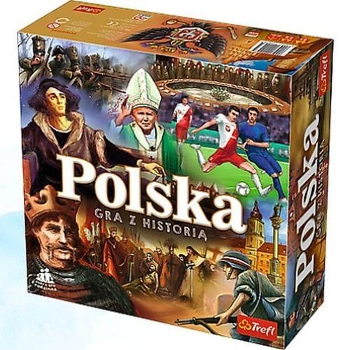 okładka Polska Gra z historią, Książka |