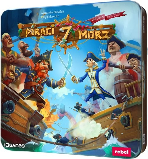 okładka Piraci 7 Mórz, Książka | Nevskiy Oleksandr, Sidorenko Oleg