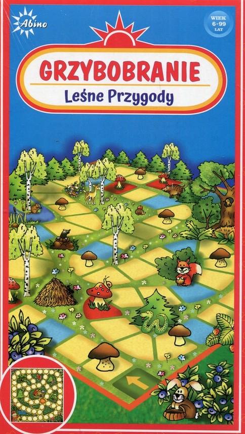 okładka Grzybobranie Leśne przygody, Książka  