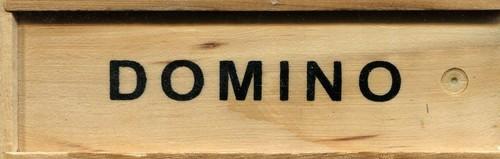 okładka Domino drewniane, Książka |