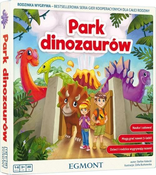 okładka Park dinozaurów, Książka |