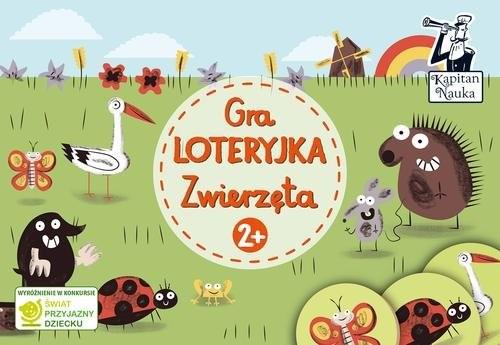 okładka Gra Loteryjka Zwierzęta 2+książka |  |