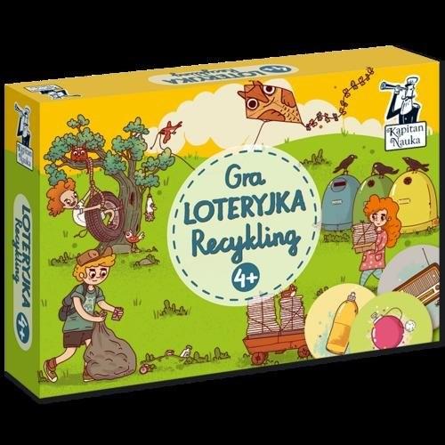 okładka Gra Loteryjka Recykling 4+, Książka |