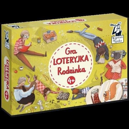 okładka Gra Loteryjka Rodzinka 4+książka     