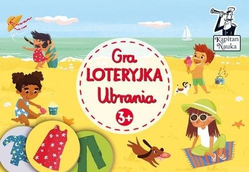okładka Gra Loteryjka Ubrania 3+, Książka |