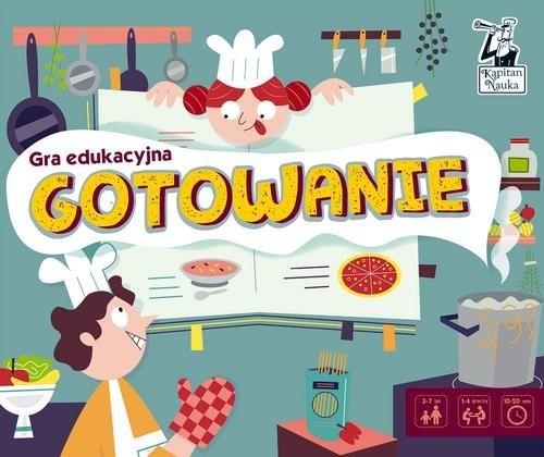 okładka Kapitan Nauka Gra edukacyjna Gotowanieksiążka     