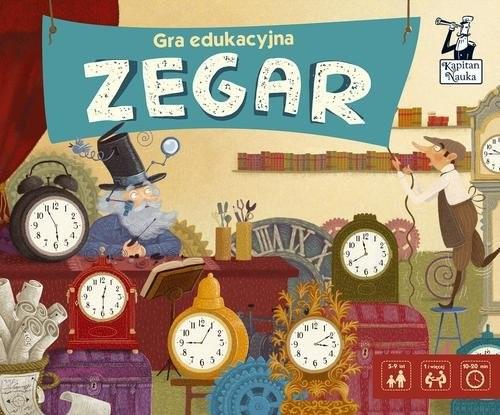okładka Gra edukacyjna Zegarksiążka |  |