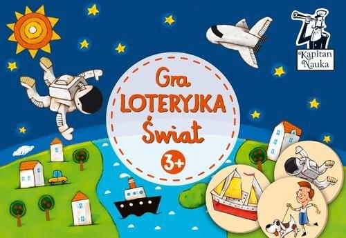 okładka Gra Loteryjka Świat 3+książka |  |