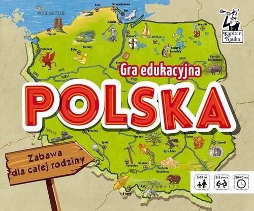 okładka Gra edukacyjna Polskaksiążka |  |