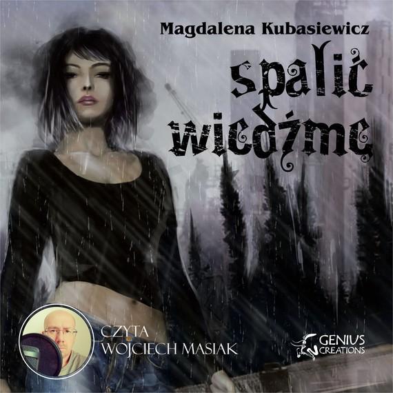 okładka Spalić wiedźmęaudiobook   MP3   Magdalena Kubasiewicz