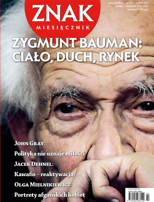 okładka Miesięcznik Znak, numer 674-675 (lipiec-sierpień 2011), Książka |