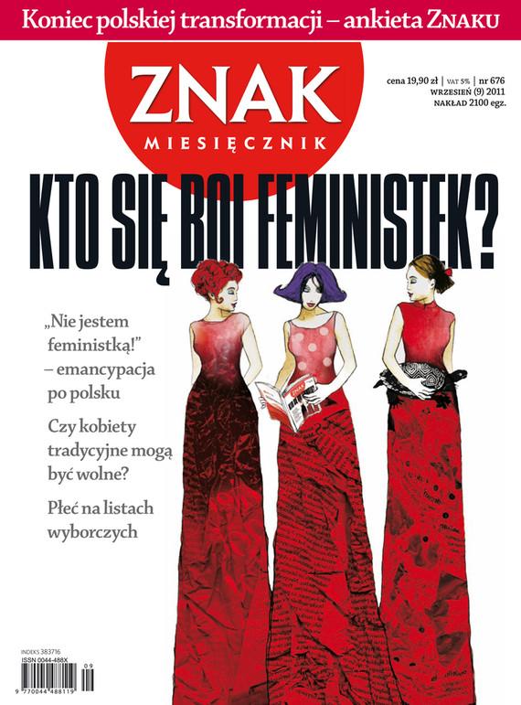 okładka Miesięcznik Znak, numer 676 (wrzesień 2011), Książka |