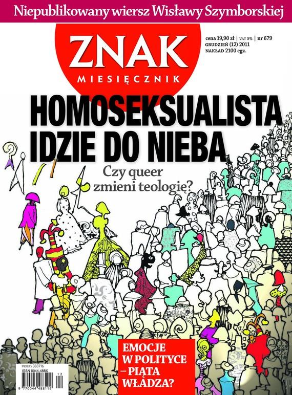 okładka Miesięcznik Znak, numer 679 (grudzień 2011), Książka |