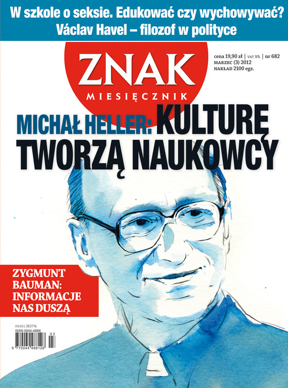 okładka Miesięcznik Znak, numer 682 (marzec 2012), Książka |