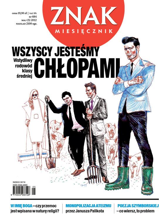 okładka Miesięcznik Znak, numer 684 (maj 2012), Książka |