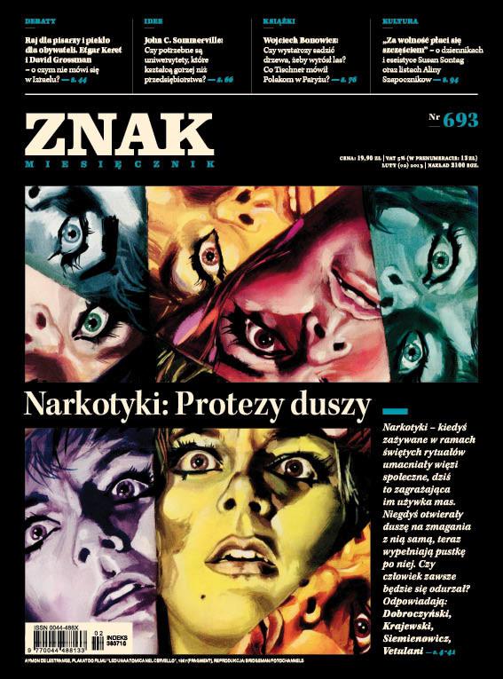 okładka Miesięcznik Znak numer 693 (luty 2013), Książka |