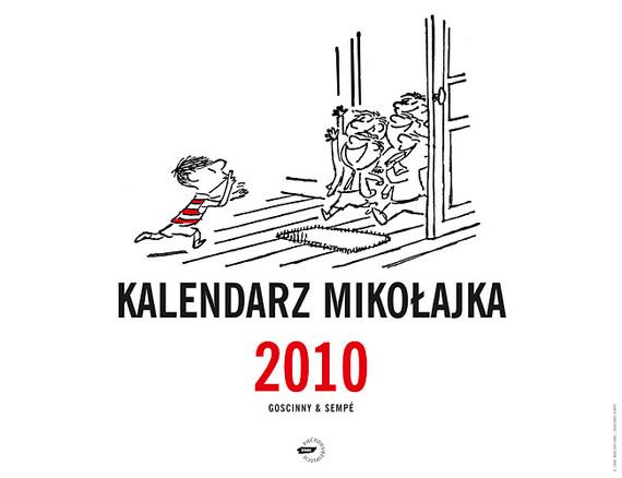 okładka Kalendarz Mikołajka 2010 (ścienny)książka |  | René Goscinny, Jean-Jacques Sempé