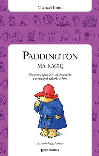 okładka Paddington ma rację, Książka | Bond Michael