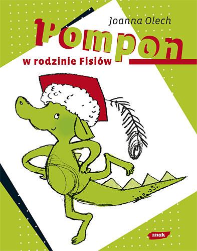 okładka Pompon w rodzinie Fisiów, Książka | Joanna Olech