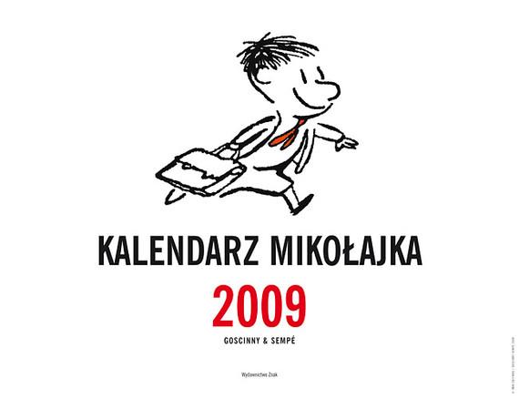 okładka Kalendarz Mikołajka 2009książka      René Goscinny, Jean-Jacques Sempé