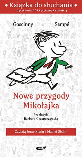 okładka Nowe przygody Mikołajka. Audio, Książka | René Goscinny, Jean-Jacques Sempé