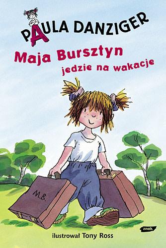 okładka Maja Bursztyn jedzie na wakacje, Książka | Danziger Paula