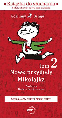 okładka Nowe przygody Mikołajka. Kolejna porcja. Audioksiążka |  | René Goscinny